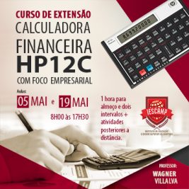 Faculdade IESCAMP traz curso com certificado da calculadora HP12C