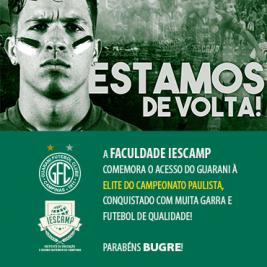 Guarani goleia o Oeste e é campeão da Série A2